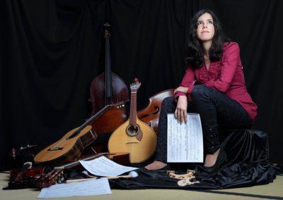 Inés Badalo, compositora.  ©J.Pascual Pastor